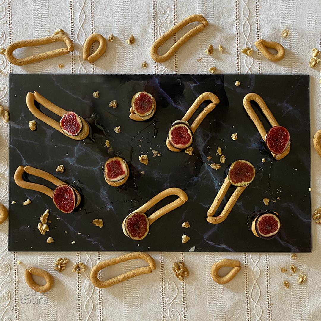 Receta con rosquillas murcianas